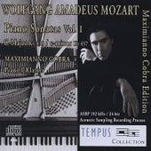 Mozart - Piano Sonatas Vol. 1 C-Major KV 330 - c-minor KV 457 by Maximianno Cobra