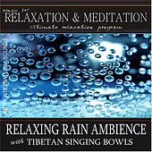 Relaxing Rain Ambience with Tibetan Singing Bowls by Music For Relaxation