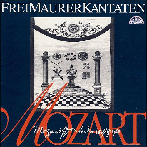 Mozart: Freimaurerkantaten und Lieder by Various Artists