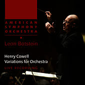 Cowell: Variations for Orchestra by American Symphony Orchestra