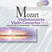 Mozart: Violin Concertos Nos. 1-5 by Various Artists