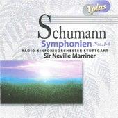 Schumann: Symphonies Nos. 1-4 by Neville Marriner