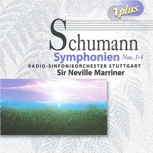 Schumann: Symphonies Nos. 1-4 von Neville Marriner