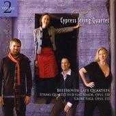 Beethoven Late Quartets, Vol. 2 by Cypress String Quartet