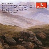 Schubert, F.: 4 Impromptus, Op. 90 / Piano Sonata No. 21 / 16 German Dances and 2 Ecossaises by Arthur Rowe