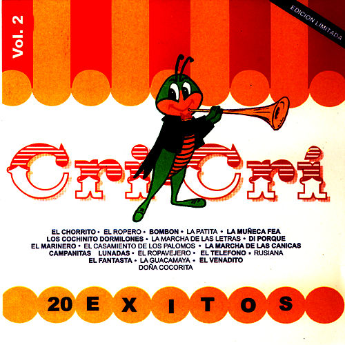20 Exitos De Cri Cri Vol. 2 by Francisco Gabilondo Soler Y Flavio