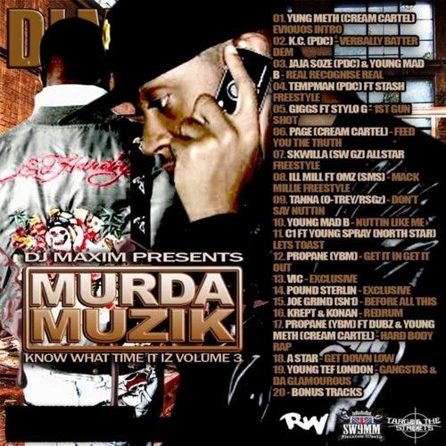 Murda Muzik by Various Artists