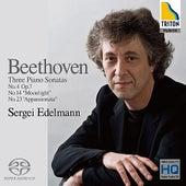 Beethoven: Piano Sonatas No.4, No.14 & No.23 by Sergei Edelmann