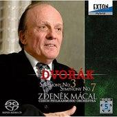 Dvorak : Symphony No.3 & 7 by Zdenek Macal