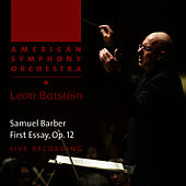 Barber: First Essay by American Symphony Orchestra