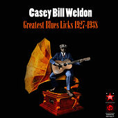 Greatest Blues Licks 1927-1938 by Casey Bill Weldon