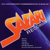 25th Anniversary Commemorative Album of Safari Records by Various Artists