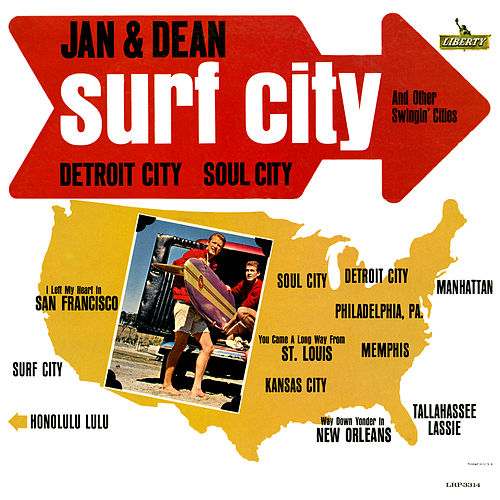 Surf City and Other Swingin' Cities by Jan & Dean