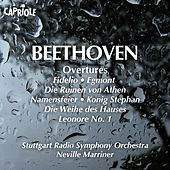Beethoven, L. Van: Overtures by Neville Marriner