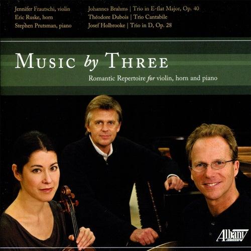 Music by Three by Jennifer Frautschi