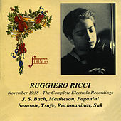 Ruggiero Ricci November 1938 - The Complete Electrola Recordings by Ruggiero Ricci