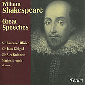 Great Speeches from Shakespeare by Various Artists