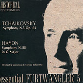 Tchaikovsky: Symphony No. 5 in E Minor - Haydn: Symphony No. 88 in G Major by Orchestra Sinfonica Di Torino Della Rai