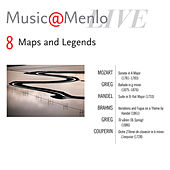 Maps and Legends Disc VIII: Mozart: Sonata, K. 331 – Grieg: Ballade, op. 24 – Handel: Suite in B-flat Major, HWV 434 - Brahms: Variations and Fugue, op. 24 – Grieg: To Spring– Couperin: L'exquise by Juho Pohjonen