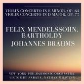 Felix Mendelssohn, Bartholdy: Violin Concerto In E minor, Op. 64 - Johannes Brahms: Violin Concerto In D Major, Op. 77 by Various Artists