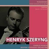 Tchaikovsky: Violin Concerto in D - Tartini: Devil's Trill Sonata by Henryk Szeryng