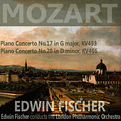 Mozart: Piano Concerto No. 17 in G Major, Piano Concerto No. 20 in D Minor by London Philharmonic Orchestra