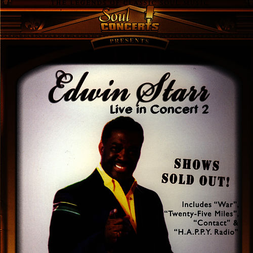 Live From Germany by Edwin Starr