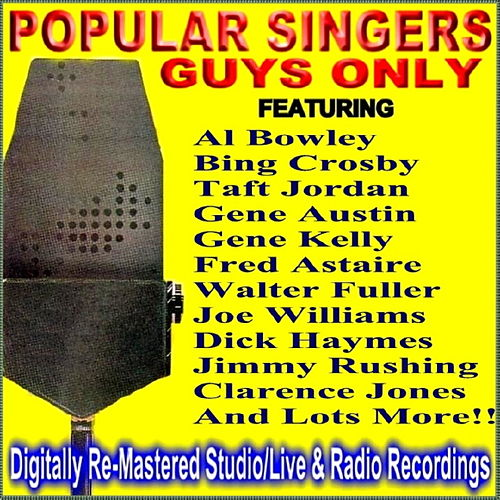 Popular Singers - Guys Only by Various Artists