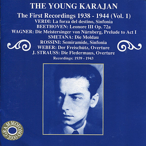 The Young Karajan - The First Recordings 1838-1944, Vol. 1 by Various Artists
