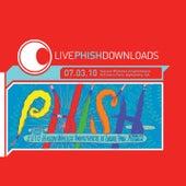 Live Phish: 7/3/10 Verizon Wireless At Encore Park, Alpharetta, GA by Phish