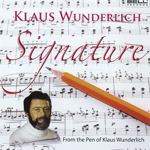 Signature by Klaus Wunderlich