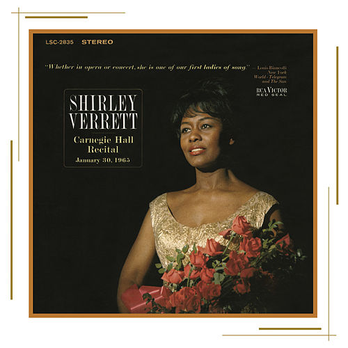 Carnegie Hall Recital by Shirley Verrett