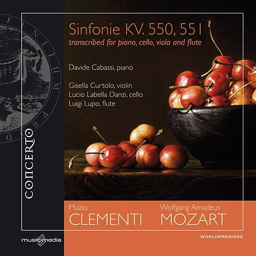 Mozart: Sinfonie KV. 550, 551 - transcribed for piano, cello, viola and flute by Various Artists