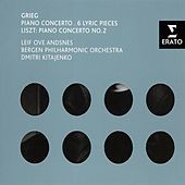 Grieg: Piano Concerto, 6 Lyric Pieces & Liszt: Piano Concerto No.2 by Various Artists