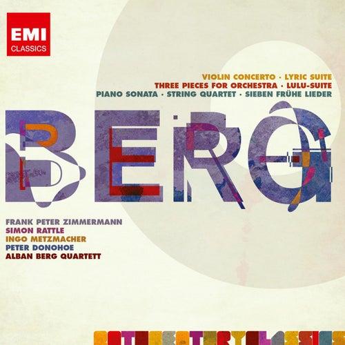 Berg: Violin Concerto; Three Orchestra Pieces; Piano Sonata No.1; String Quartet No.3 etc by Various Artists