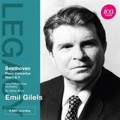 Beethoven: Piano Concertos Nos. 1 & 3 by Emil Gilels