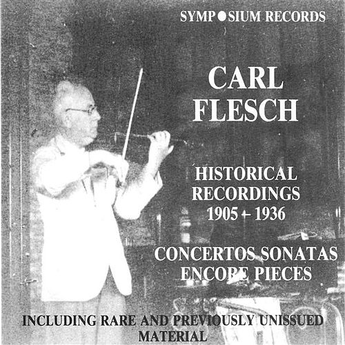 Carl Flesch (1905-1944) by Various Artists