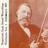 Great Violinists, Vol. 1 (1903-1944) by Various Artists
