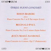 Three Piano Concerti (1930, 1946) by Various Artists