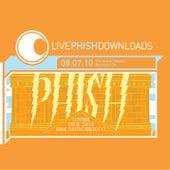 Live Phish Downloads: 08.07.10 Greek Theatre, Berkeley, CA by Phish