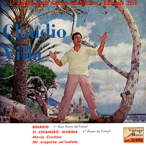 Vintage Italian Song No. 52 - EP: 1º Festival Del Mediterraneo by Claudio Villa