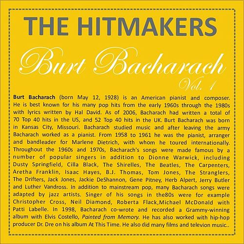 Hits of Burt Bacharach - Vol. 1 by The World-Band