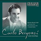 Early Recordings  1951-1960 by Carlo Bergonzi