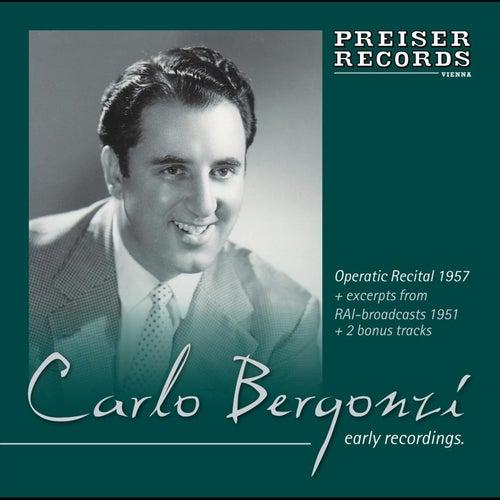 Early Recordings  1951-1960 by Carlo Bergonzi