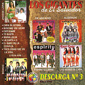 Los Gigantes De El Salvador, Descarga #3 by Various Artists