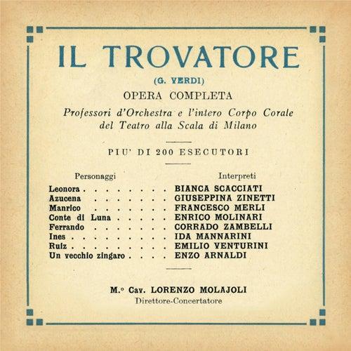 Paperback Opera: Il Trovatore  GA 1930 by Lorenzo Molajoli