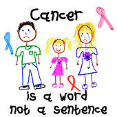 Cancer is a Word Not a Sentence by Out of Ether