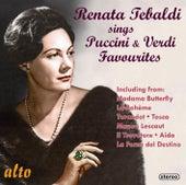 Renata Tebaldi Sings Puccini & Verdi Favourites by Renata Tebaldi