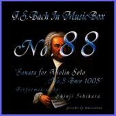 Bach In Musical Box 88 / Sonata for Violin Solo No.3 Bwv 1005 by Shinji Ishihara