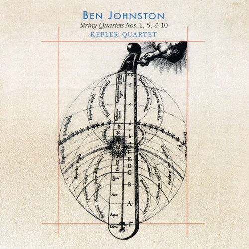 Ben Johnston: String Quartets Nos. 1, 5 & 10 by Kepler Quartet